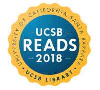 Logo for UCSB Reads 2018