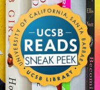 UCSB Reads Sneak Peek Logo