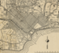 Image of map from Special Collections