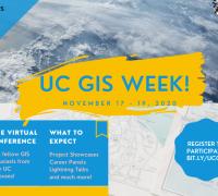 UC GIS Week Logo
