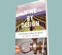 """Wine by Design"" book by Victor Geraci."