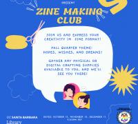 Zine Making Club Flyer