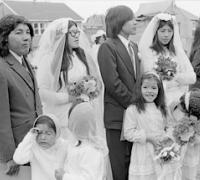 Cree wedding