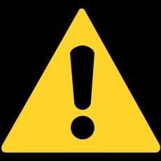 Alert symbol
