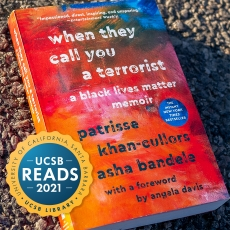 UCSB Reads Book with Badge