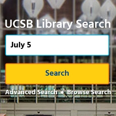 Image of the new UCSB Library Search online