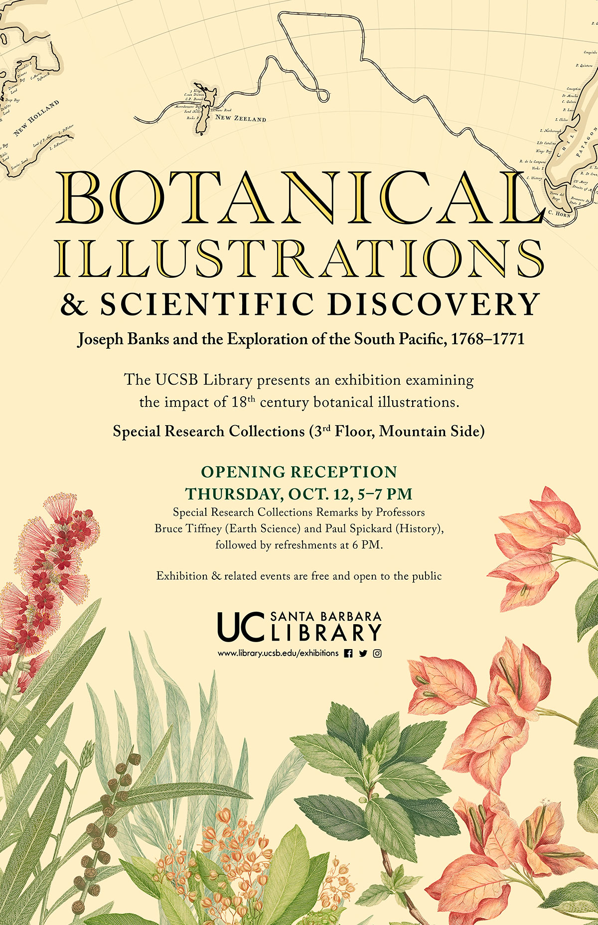 Botanical Illustrations and Scientific Discovery Poster